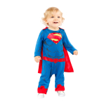 Superman Costume - Age 6-12 Months - 1 PC
