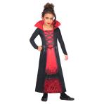 Rose Vampiress Sustainable Costume - Age 10-12 Years - 1 PC