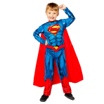 Superman Sustainable Costume - Age 6-8 Years - 1 PC