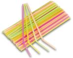 40 Drinking straws neon