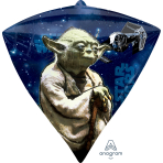 "Star Wars Diamondz Foil Balloons 15""/38cm w x 17""/43cm h G40 - 5 PC"