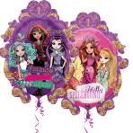 "Ever After High SuperShape Foil Balloons 25""/63cm w x 31""/78cm h P38 - 5 PC"