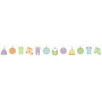 Baby Shower Autograph Garlands 4.57m - 6 PKG/24