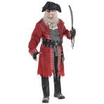 Zombie Pirate Costume - Plus Size - 1 PC
