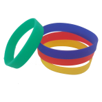 Rubber Bracelets - 6 PKG/4