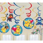 Pokémon Swirl Decorations - 6 PKG/12