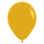 "Fashion Colour Mustard 023 Latex Balloons 12""/30cm - 50 PC"