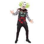Haha Clown Costume - Standard Size - 1 PC