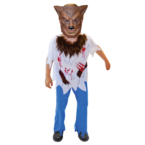 Boys Werewolf Costume - Age 6-8 Years - 1 PC  sc 1 st  Amscan & Boys Werewolf Costume - Age 6-8 Years - 1 PC : Amscan International