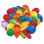 Star Value 50 assorted Latex Balloons - 10 PKG/50