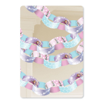 Disney Frozen Paper Chain Garlands 3.9cm - 6 PKG/60