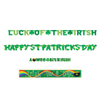 St. Patrick's Day Banners Packs - 6 PKG/4