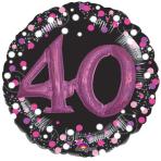 Pink Celebration 40 Foil Multi-Balloons P75 - 5 PC