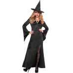 Basic Witch Dress - Size Adults - 3 PC