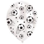"Football Latex Balloons 11""/27.5cm - 10 PKG/6"
