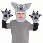 Wolf Costume Kit - Child Size Standard - 2 PC