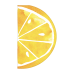Just Chillin' Lemon Die-cut Luncheon Napkins 33cm - 12 PKG/16