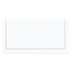 Classic Placecards Silver    - 8.9cm 12 PKG/50