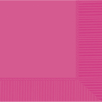 Bright Pink Luncheon Napkins 33cm 2ply - 12 PKG/50