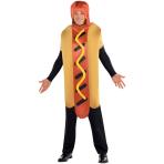 Adults Hot Diggety Dog Costume - Size Standard - 1 PC