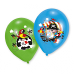 "Pirate Latex Balloons 11""/27.5cm - 10 PKG/6"