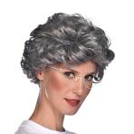 Grandma Irmgard Wigs - 6 PC