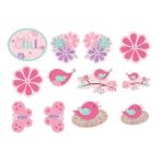 Tweet Baby Girl Value Pack Cutouts - 6 PKG/12