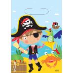 Little Pirate Loot Bags - 12 PKG/8