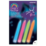 Fancy Glow Assorted Stick Necklaces - 6 PKG/4