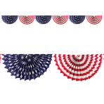4th July Garlands 2m - 6 PC