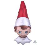 "The Elf on the Shelf SuperShape Foil Balloons 16""/40cm x 38""/96cm P38 - 5 PC"