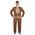 Native American Man Costume - Size L - 1 PC