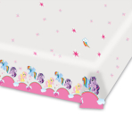 My Little Pony Plastic Tablecovers 1.2m x 1.8m - 10 PC