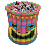 Hawaiian Inflatable Jumbo Tiki Tub Coolers 61cm h - 3 PC