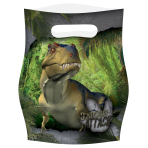 Dinosaur Attack Loot Bags - 10 PKG/8