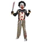 Slasher Clown Costume - Age 14-16 Years - 1 PC