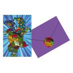 Rise of the Teenage Mutant Ninja Turtles Postcard Invitations - 6 PKG/8