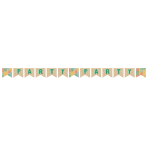 Always Sunny Pennant Banners 2.6m - 6 PC