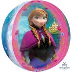 """Orbz Frozen Foil Balloons 15""""/38cm w x 16""""/40cm h - G40 5PC"""