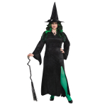Basic Witch Dress - Plus Size - 2 PC