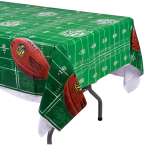 NFL Plastic Tablecovers 1.37m x 2.59m - 6 PC