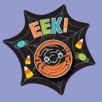 Halloween Web Cards with Maze Puzzle - 9 PKG/12