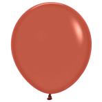 "Fashion Colour Solid Terracotta 072 Latex Balloons 18""/45cm - 25 PC"