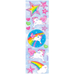 Unicorn Magic Sticker Strip-12 PC