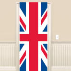 Great Britain Union Jack Plastic Door Signs 1.5m x 58cm - 6 PC