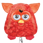 "Furby SuperShape Foil Balloons 24""/60cm w x 25""/60cm h P38 - 5 PC"