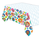 Bubble Guppies Plastic Tablecovers 1.4m x 2.7m - 6 PC