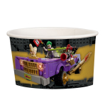 LEGO Batman Movie Paper Treat/Ice Cream Cups 251ml - 6 PKG/8