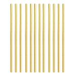 Gold Premium Paper Straws - 12 PKG/24