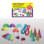 New Year's Eve Let's Party Jewel Tone Kits - 4 PKG/25